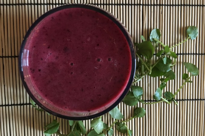 Beetroot Berry-licious Smoothie