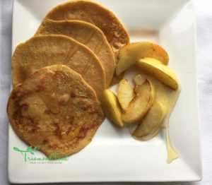 ginger, lemon, cinnamon and ale pancakes