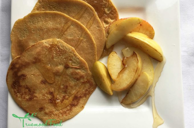 ginger, lemon, cinnamon and ale pancakes