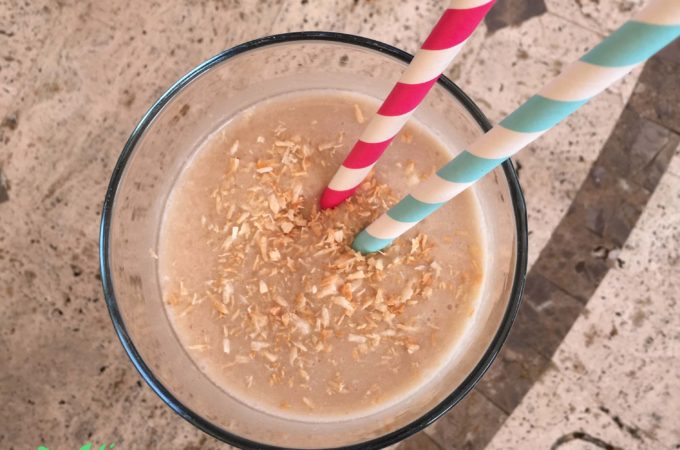 Better Than A Cup Of Coffee ' Toasted Coconut Coffee Smoothie'