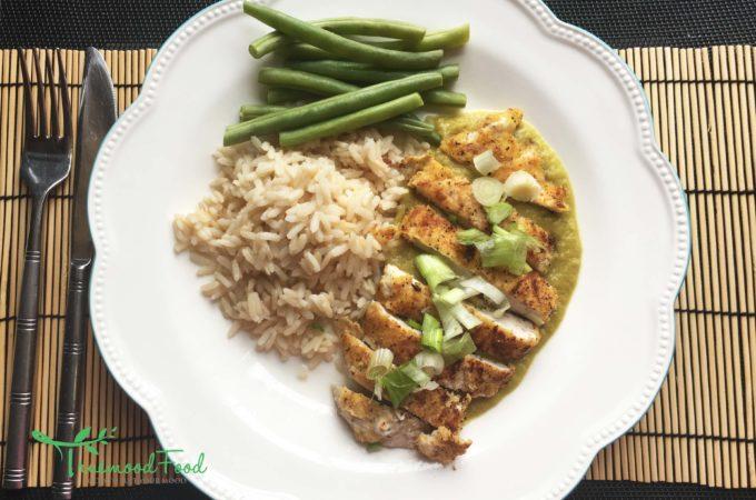 Healthier Katsu Chicken