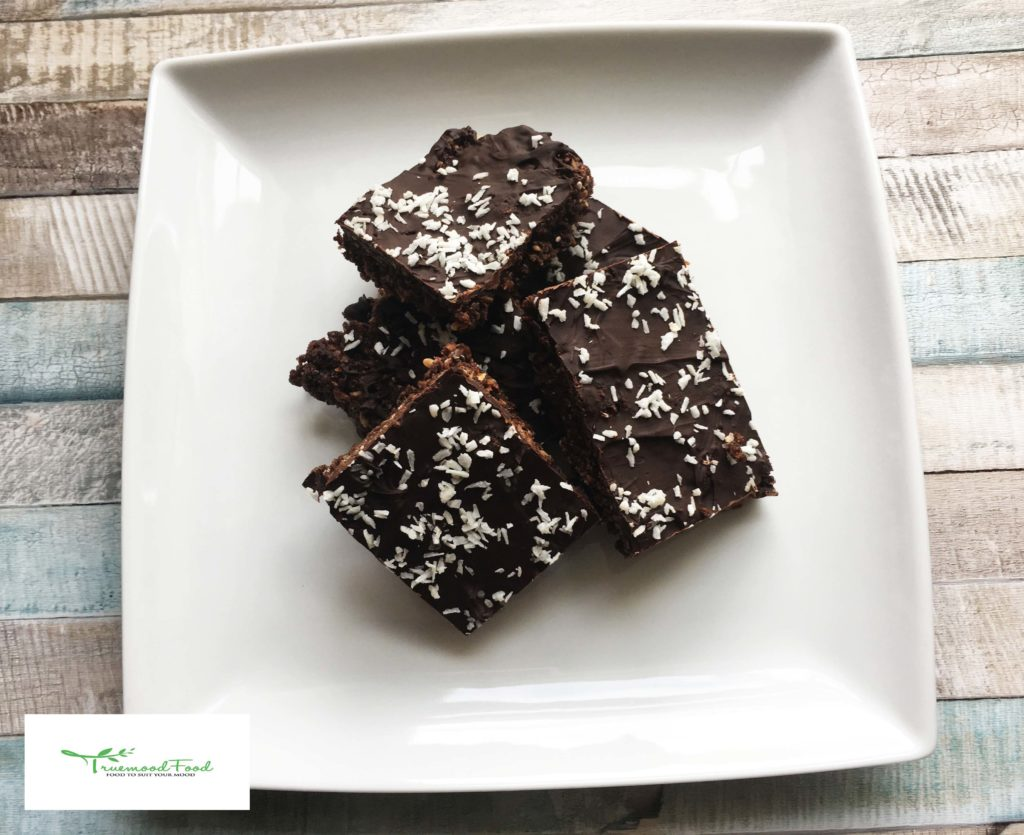 coconut chocolate slice